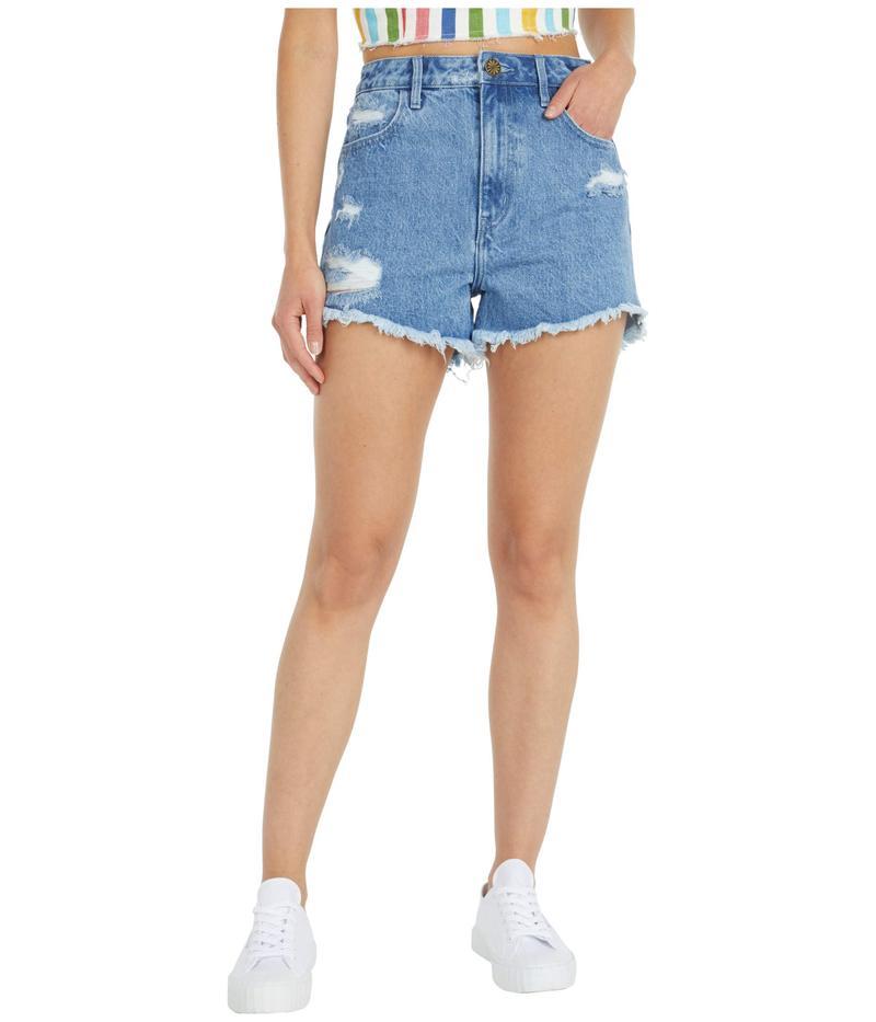 ウミーユアムーム レディース ハーフパンツ・ショーツ ボトムス Arizona High-Waisted Shorts in Out of the Blue Out Of The Blue