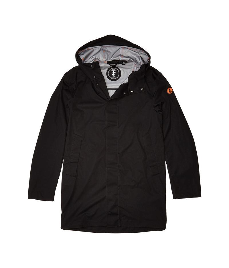 セイブ ザ ダック メンズ コート アウター Bark X Hooded Coat Black