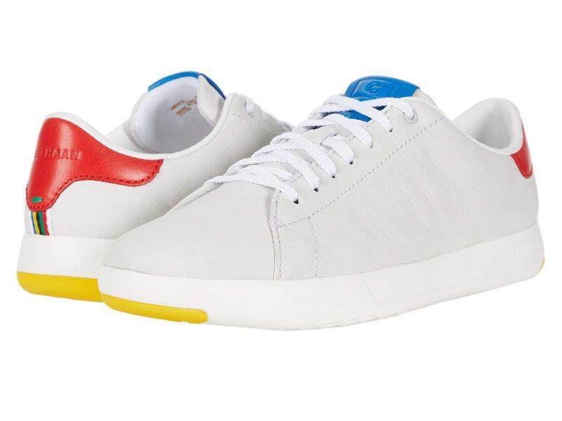 コールハーン メンズ スニーカー シューズ GrandPro Tennis Sneaker Light Gray Nubu