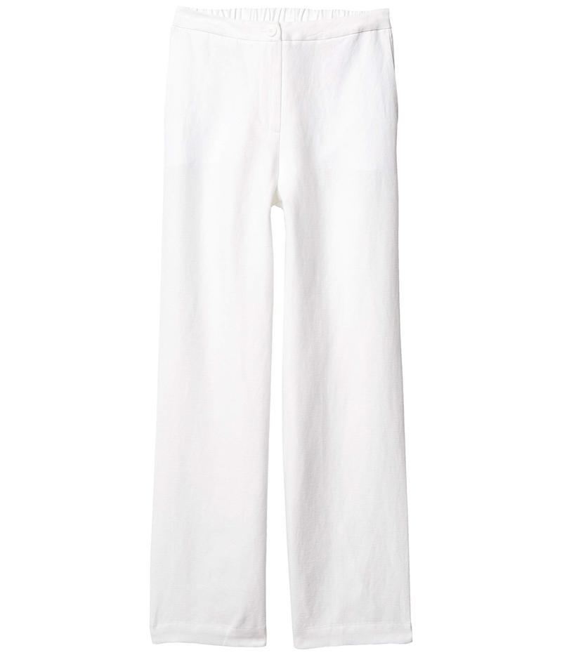 エイリーンフィッシャー レディース カジュアルパンツ ボトムス Petite Straight Full Length Pants White