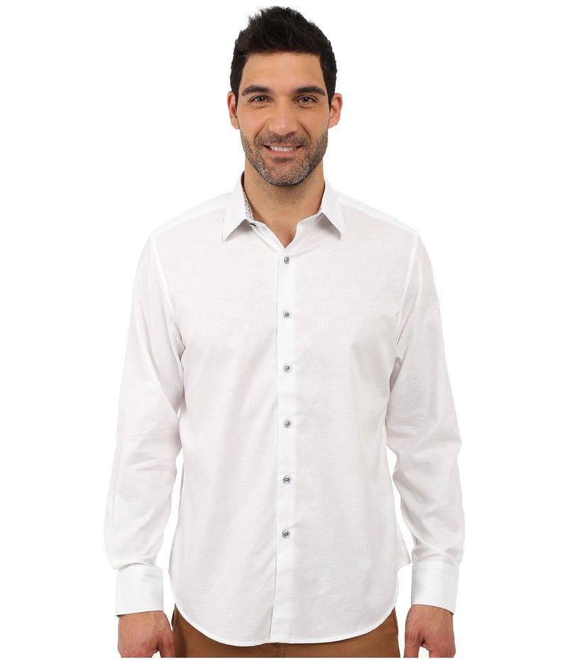 ロバートグラハム メンズ シャツ トップス Cullen Sport Shirt White