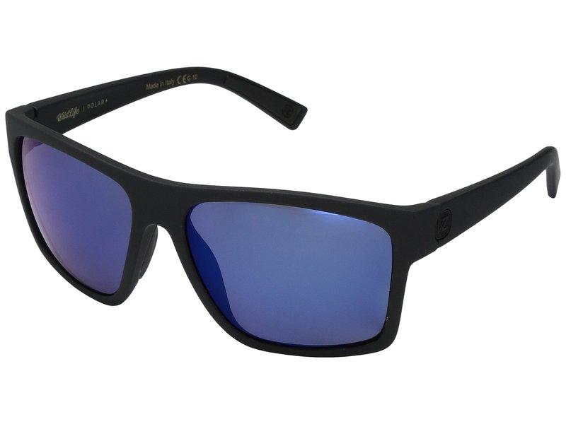 ボンジッパー メンズ サングラス・アイウェア アクセサリー Dipstick Polar Black Satin/Wild Blue Flash Polar Plus