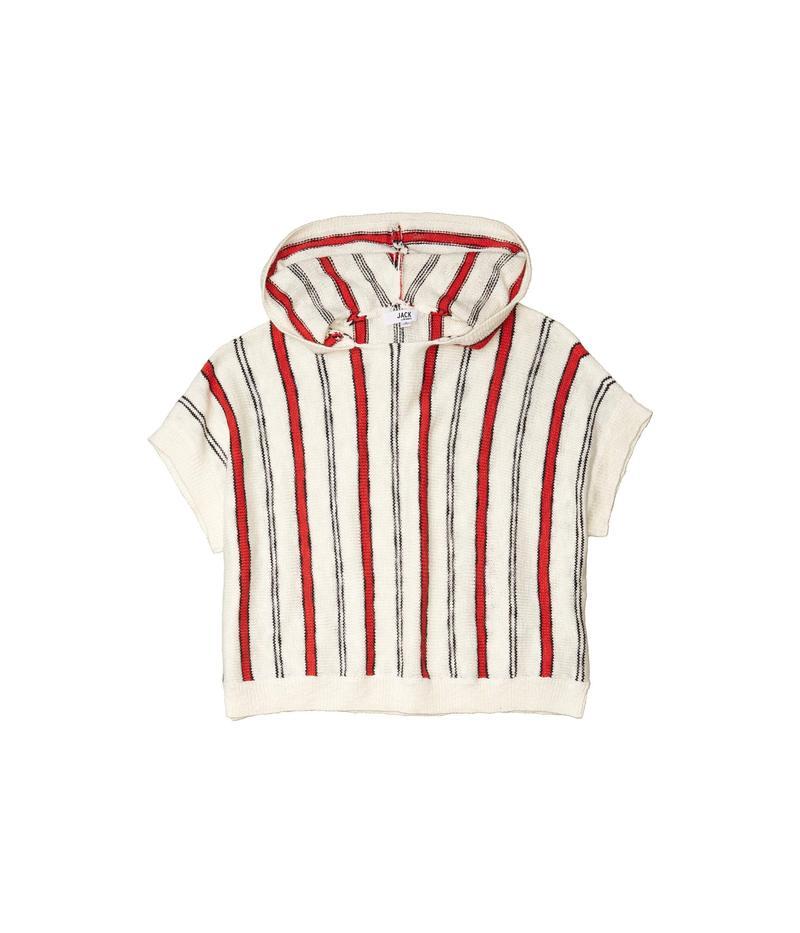 ジャック バイ ビービーダコタ レディース ニット・セーター アウター Yarn Dye Stripe Hooded Sweater Ivory8OkX0wPNnZ
