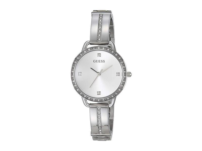 ゲス レディース 腕時計 アクセサリー GW0022L1 Silver-Tone