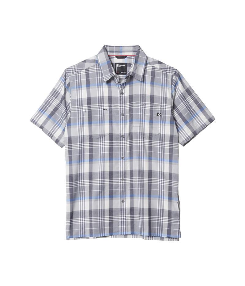 マーモット メンズ シャツ トップス Innesdale Short Sleeve Shirt Sleet