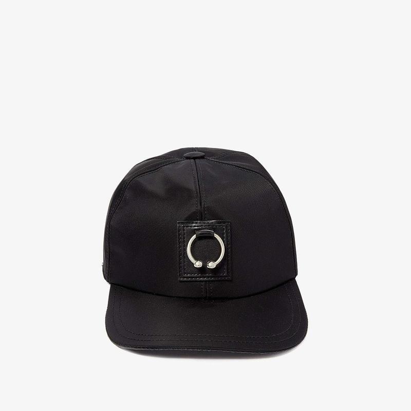ニールバレット メンズ 帽子 アクセサリー Pierced Six Panels Baseball Cap Black