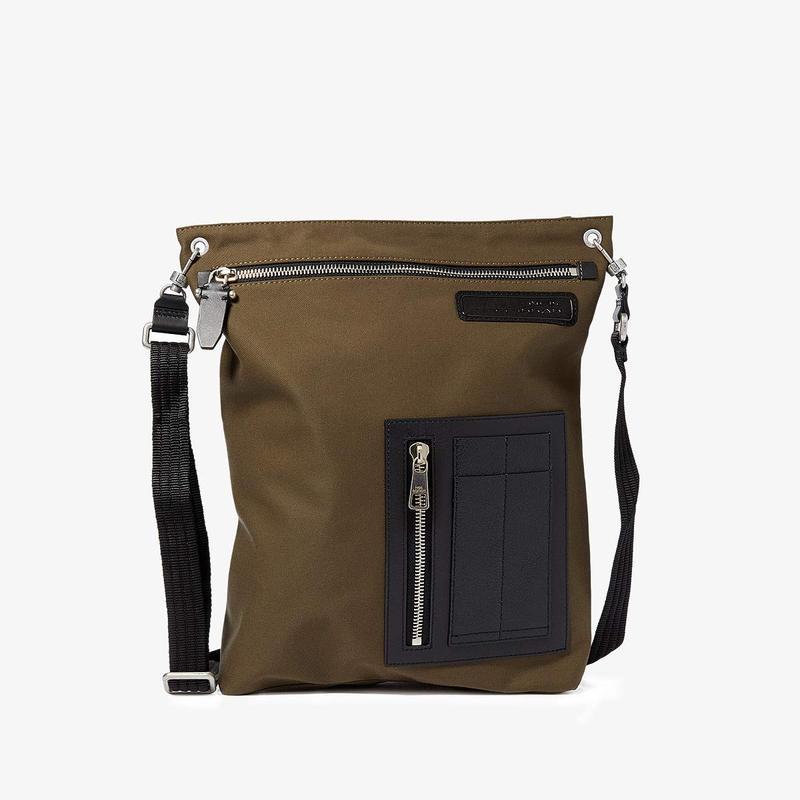 ニールバレット メンズ ショルダーバッグ バッグ MA-1 Pocket Cotton Bag Mud/Black