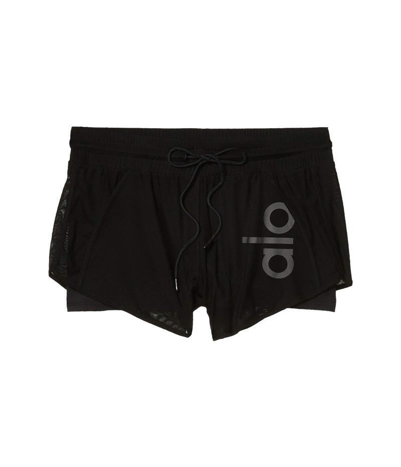 アロー レディース ハーフパンツ・ショーツ ボトムス Ambience Shorts Black/Black