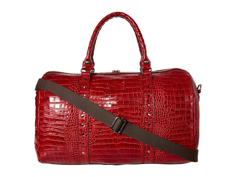 パトリシアナシュ レディース ボストンバッグ バッグ Milano Weekender Patchwork Red