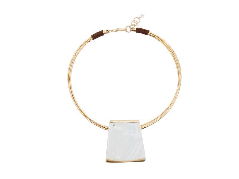 ロバートリーモリス レディース ブレスレット・バングル・アンクレット アクセサリー Square Round Wire Bracelet White