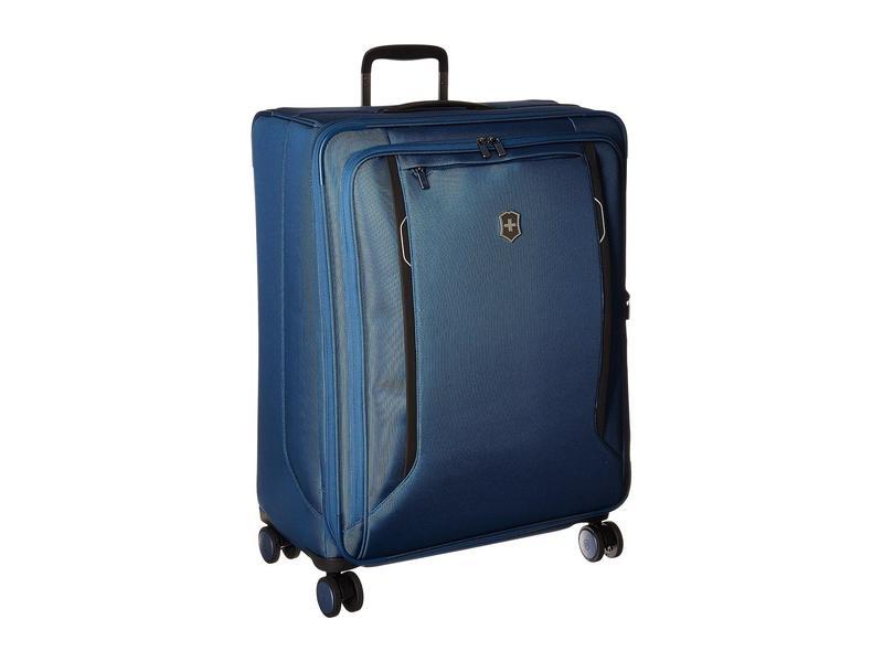 送料無料 サイズ交換無料 ビクトリノックス メンズ バッグ ボストンバッグ 感謝価格 大幅値下げランキング Blue Softside Werks 6.0 Case Traveler Large