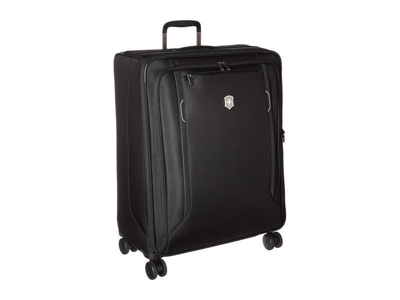 送料無料 ギフ_包装 サイズ交換無料 ビクトリノックス メンズ バッグ ボストンバッグ Black Softside 贈物 Traveler Werks 6.0 Case Large