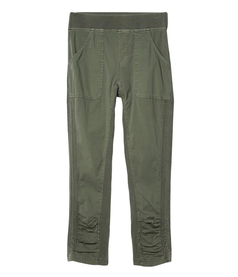 素晴らしい エックスシーブイアイ レディース カジュアルパンツ ボトムス Saoirse Crop Pants in Stretch Poplin Saguaro Pigment, FineStyle by Rakuten BRANDAVENUE 02f967a2