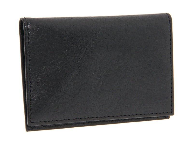 ボスカ メンズ 財布 アクセサリー Old Leather Collection - Calling Card Case Black Leather