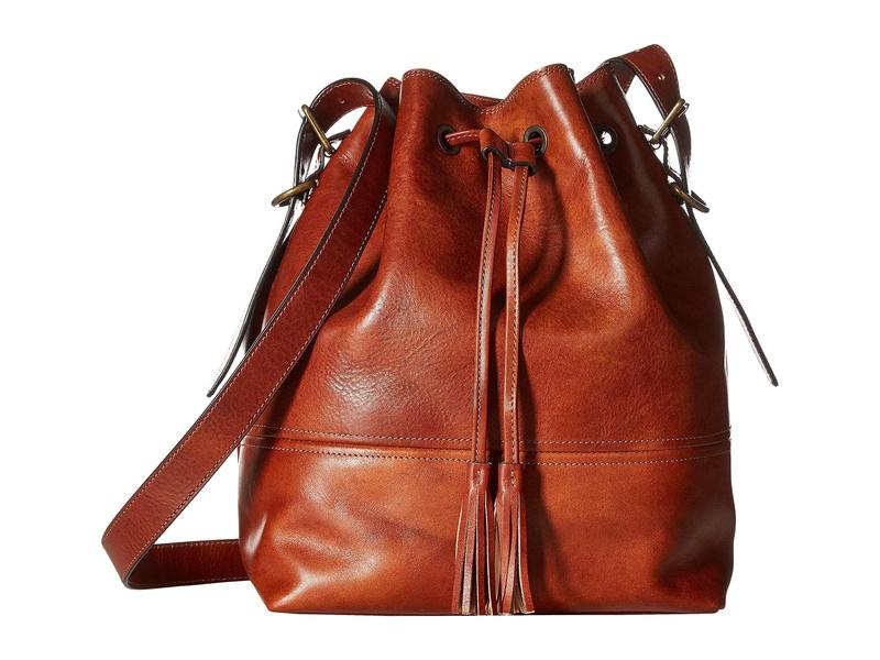 ボスカ レディース ハンドバッグ バッグ Dolce Large Bucket Bag Amber
