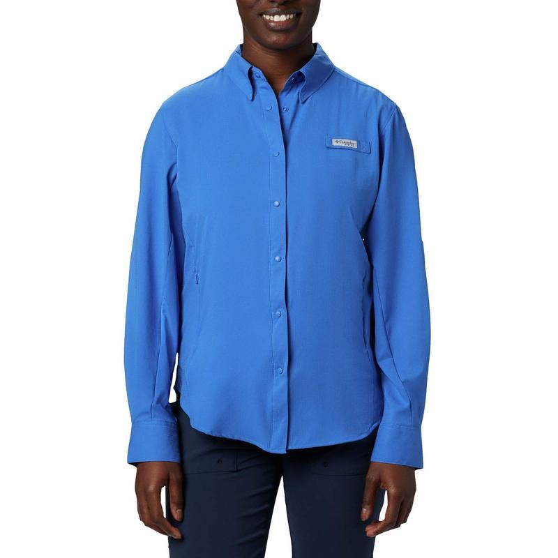 コロンビア レディース シャツ トップス Tamiami¢ II L/S Shirt Stormy Blue