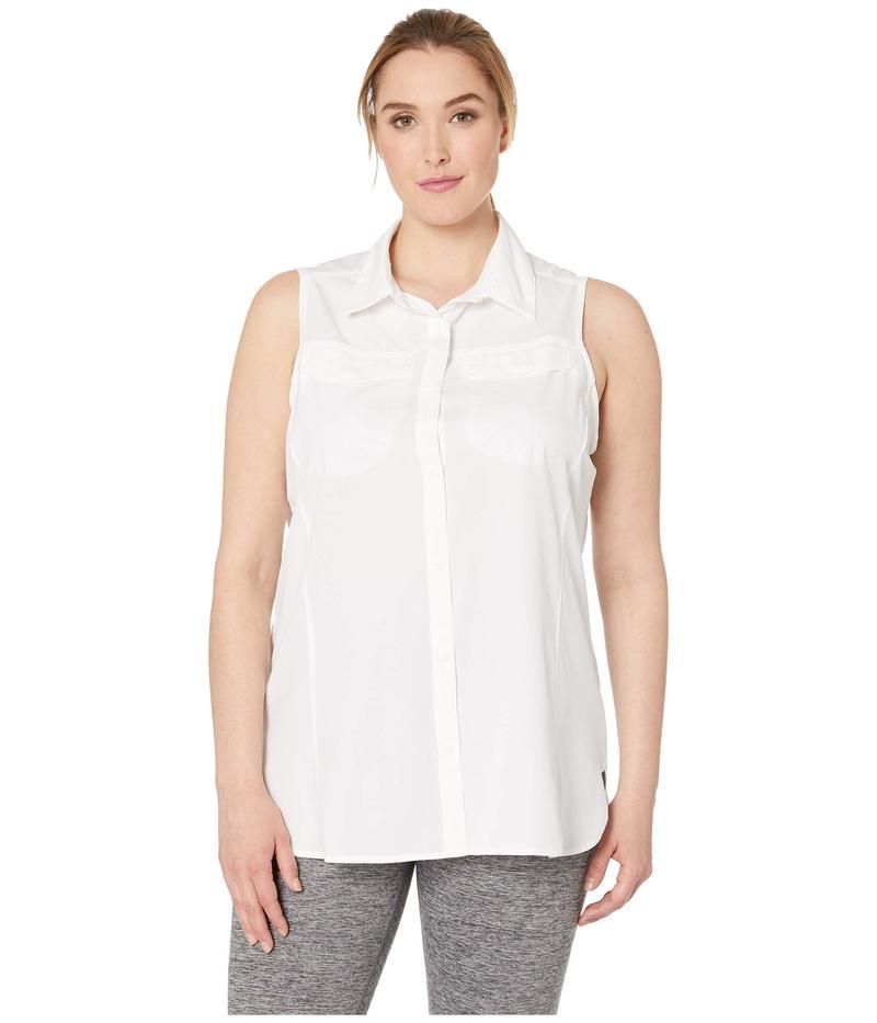 コロンビア レディース シャツ トップス Plus Size Silver Ridge¢ Lite Sleeveless White