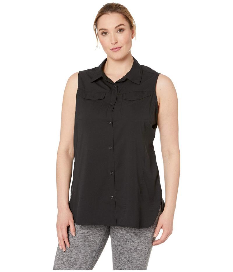 コロンビア レディース シャツ トップス Plus Size Silver Ridge¢ Lite Sleeveless Black