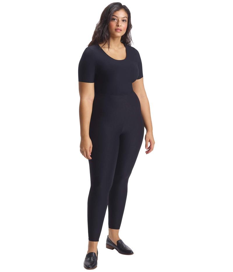 コマンドー レディース カジュアルパンツ ボトムス Plus Size Classic Leggings with Perfect Control+ SLG01W Black