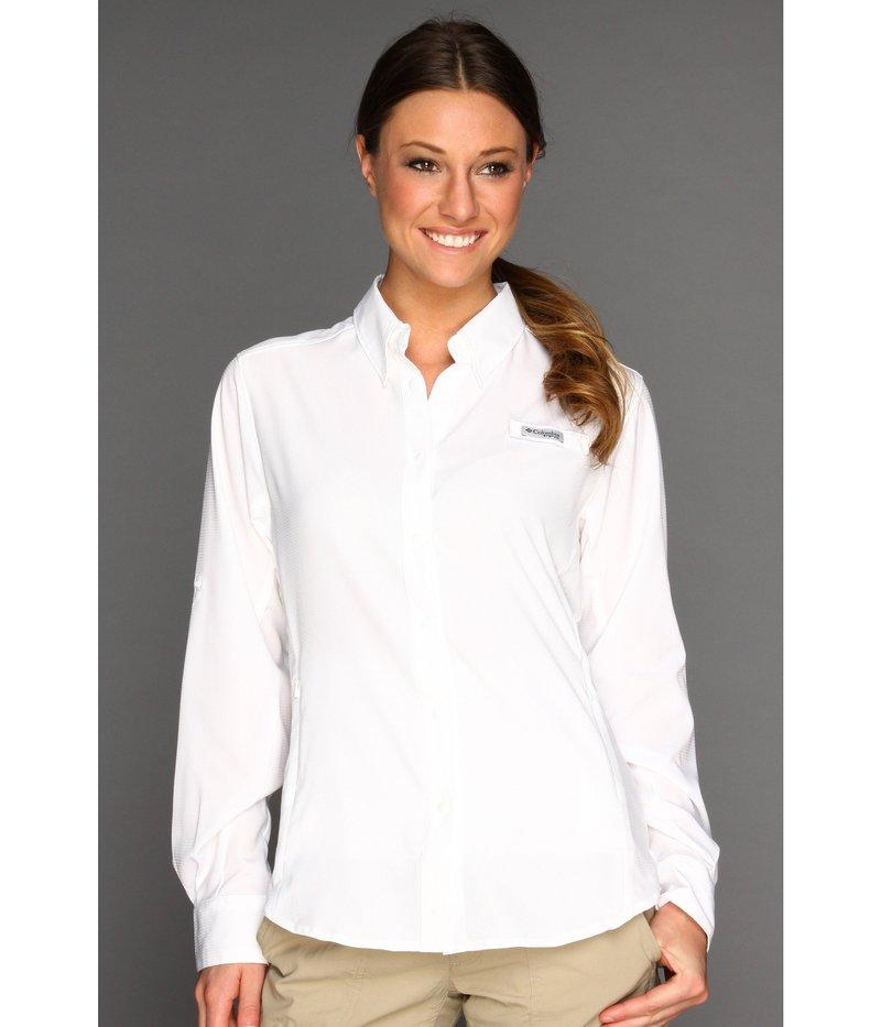 コロンビア レディース シャツ トップス Tamiami¢ II L/S Shirt White