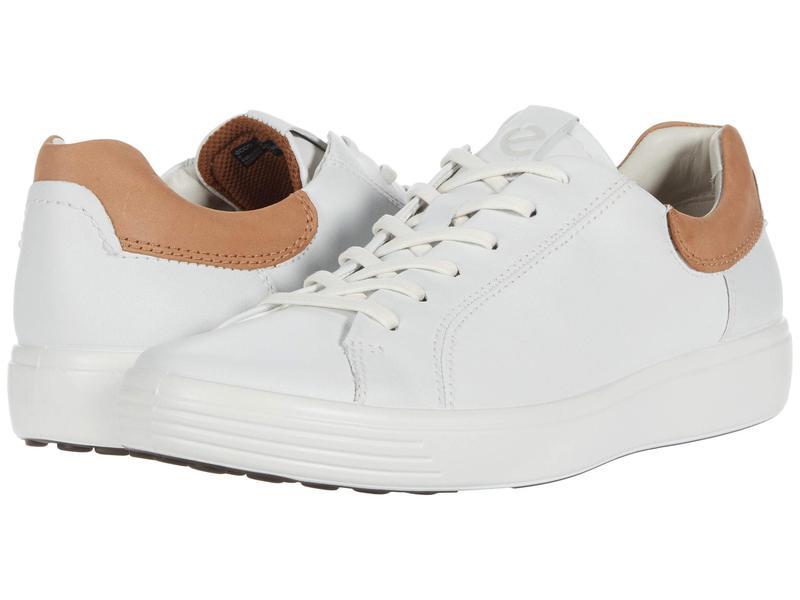 送料無料 サイズ交換無料 今季も再入荷 エコー メンズ シューズ スニーカー 7 Cashmere Soft White Sneaker Street 格安