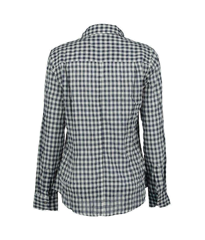 デイランバイトゥルーグリット レディース シャツ トップス Gia Gingham Classic Long Sleeve Button-Up Shirt Black