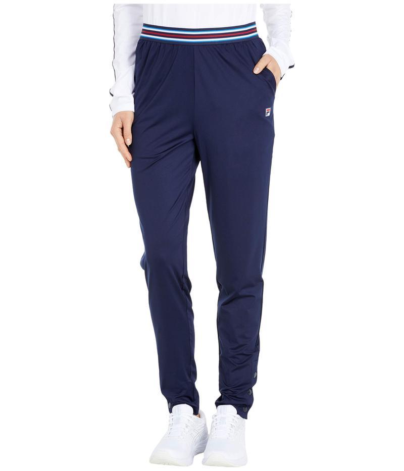 フィラ レディース カジュアルパンツ ボトムス Heritage Tennis Pants Navy