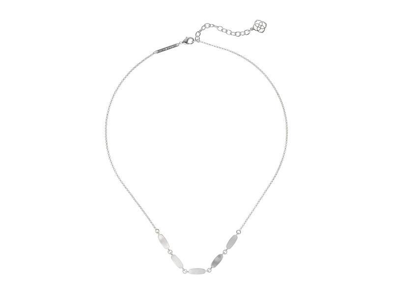 ケンドラスコット レディース ネックレス・チョーカー・ペンダントトップ アクセサリー Fern Short Strand Necklace Bright Silver M