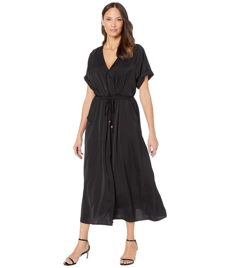 カレンケーン レディース ワンピース トップス Cuffed Sleeve Dress Black