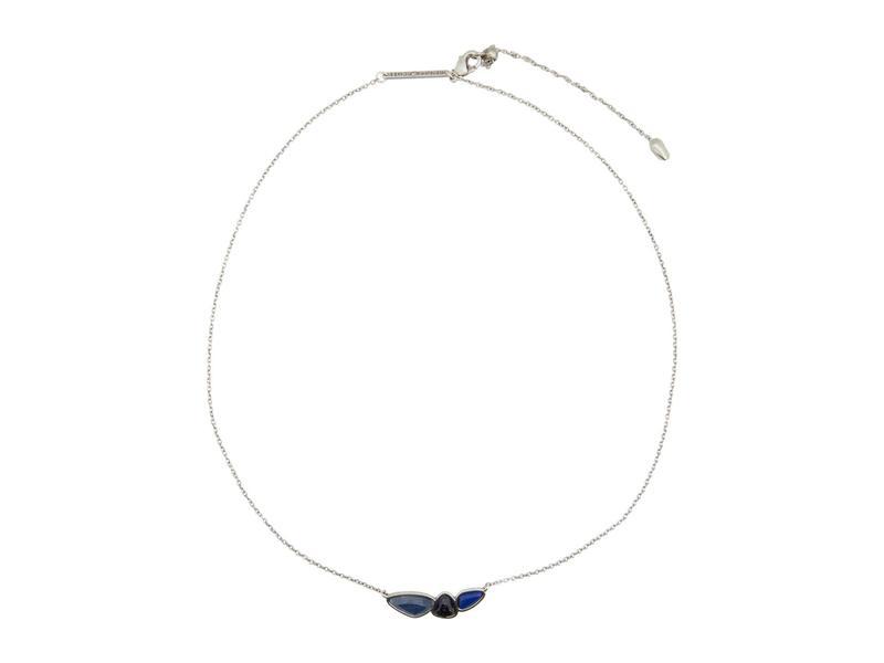 ケンドラスコット レディース ネックレス・チョーカー・ペンダントトップ アクセサリー Ivy Short Pendant Necklace Vintage Silver