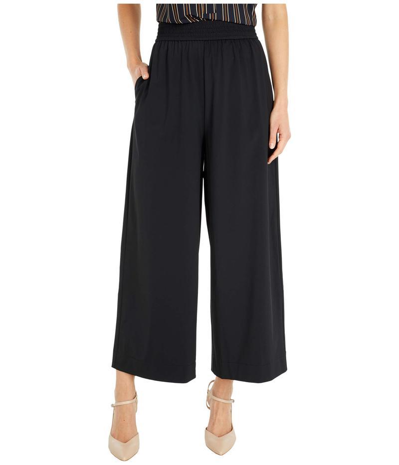 リジー レディース カジュアルパンツ ボトムス Lorelei Microfiber Wide Leg Crop Pants Black