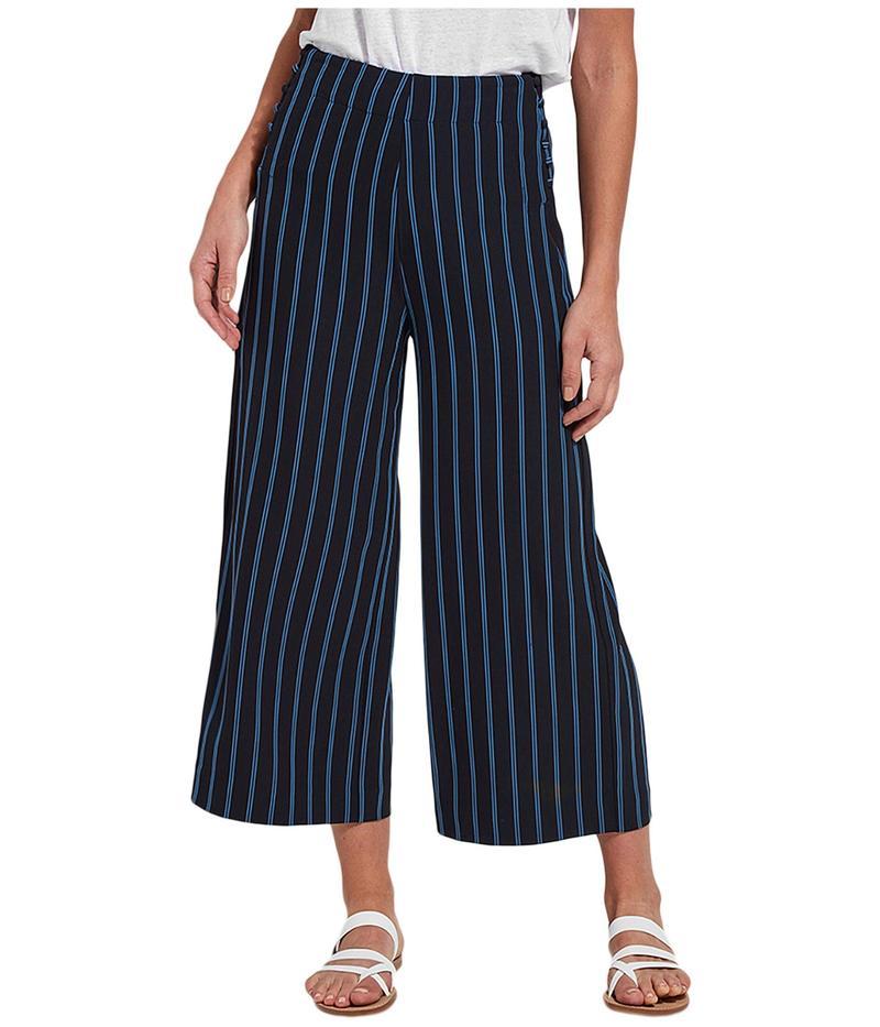 リジー レディース カジュアルパンツ ボトムス Eden Woven Stripe Pants True Navy/Doubl