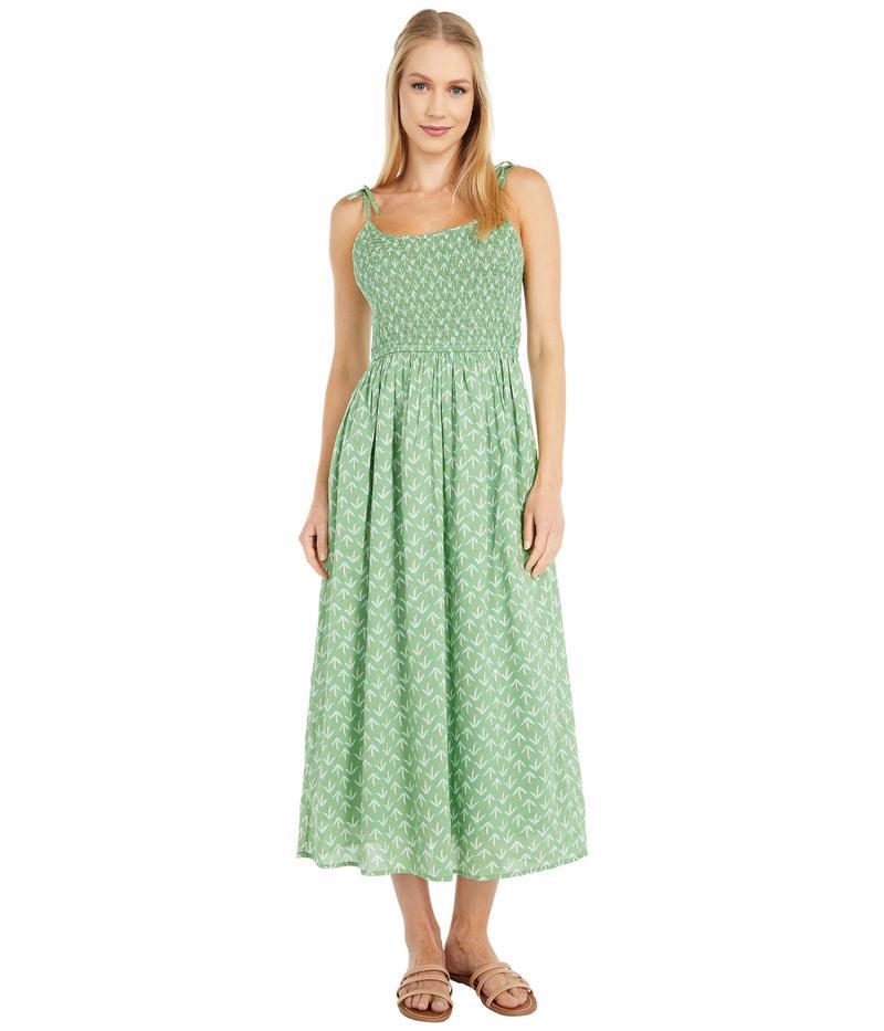 ラッキーブランド レディース ワンピース トップス Printed Penny Dress Green Multi