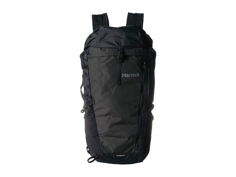 マーモット メンズ バックパック・リュックサック バッグ Kompressor Plus Black/Slate Gre