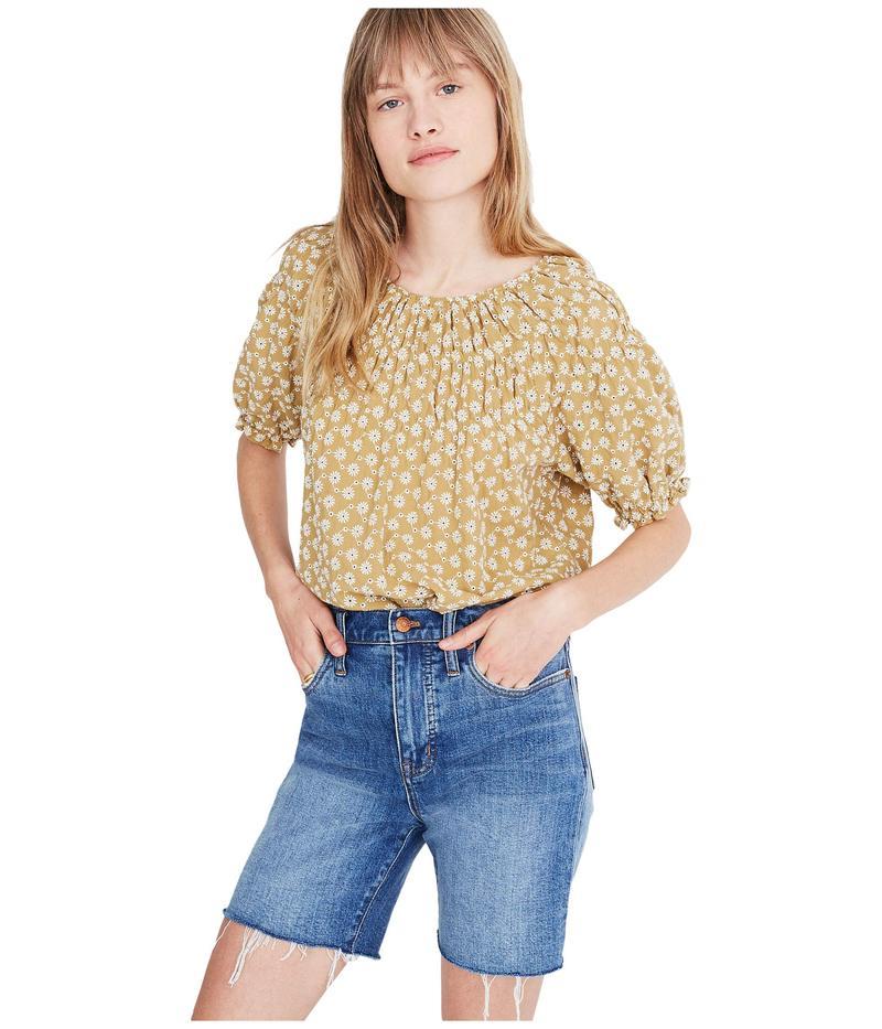 メイドウェル レディース ハーフパンツ・ショーツ ボトムス High-Rise Mid-Length Denim Shorts in Gosford Gosford