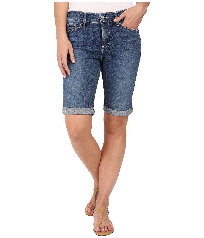エヌワイディージェイ レディース ハーフパンツ・ショーツ ボトムス Briella Roll Cuff Shorts in Heyburn Wash Heyburn Wash