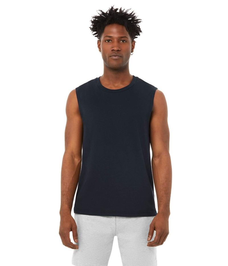 アロー メンズ シャツ トップス The Triumph Muscle Tank Top Dark Navy Tri-B