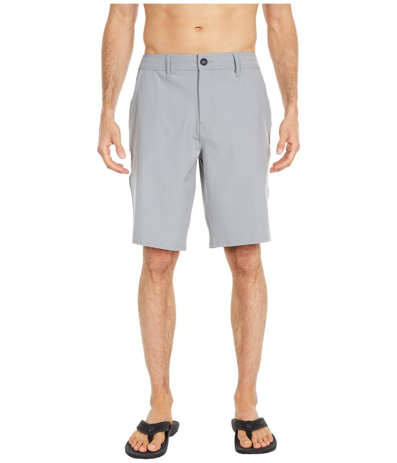 オニール メンズ ハーフパンツ・ショーツ ボトムス Reserve Solid Shorts Light Grey