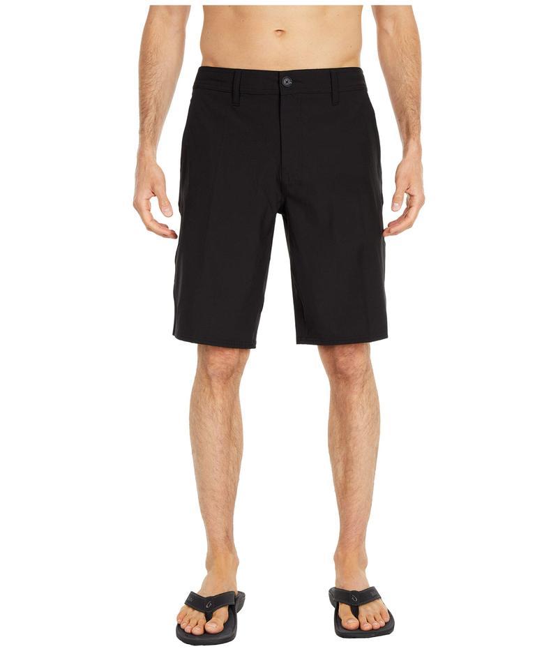 オニール メンズ ハーフパンツ・ショーツ ボトムス Reserve Solid Shorts Black