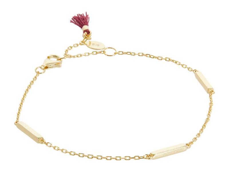 シャシ レディース ブレスレット・バングル・アンクレット アクセサリー Bar Multi Bracelet Gold