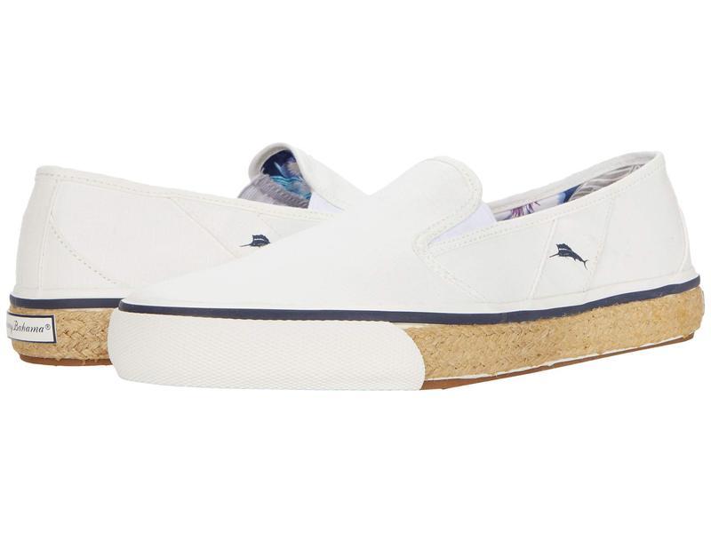 トッミーバハマ メンズ スニーカー シューズ Pacific Palms White Ripstop