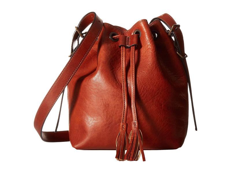 ボスカ レディース ハンドバッグ バッグ Dolce Mini Bucket Bag Amber