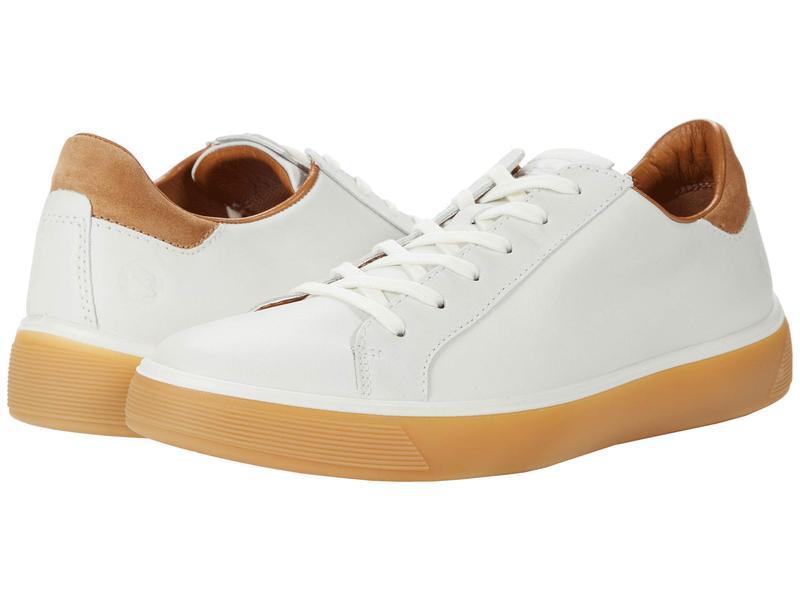 エコー メンズ スニーカー シューズ Street Tray Classic Sneaker White/Cashmere
