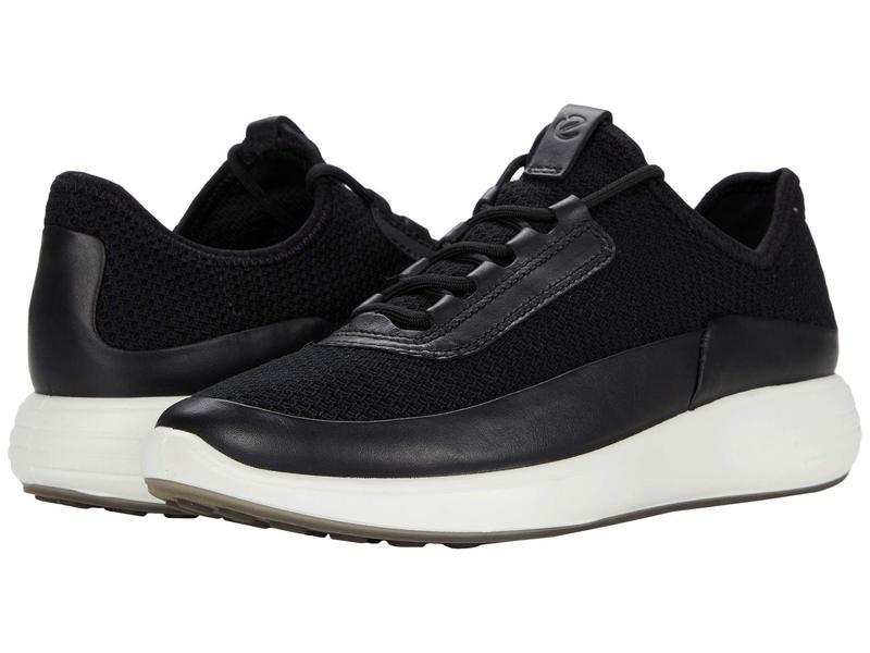 エコー レディース スニーカー シューズ Soft 7 Runner Summer Sneaker Black/Black/Bla