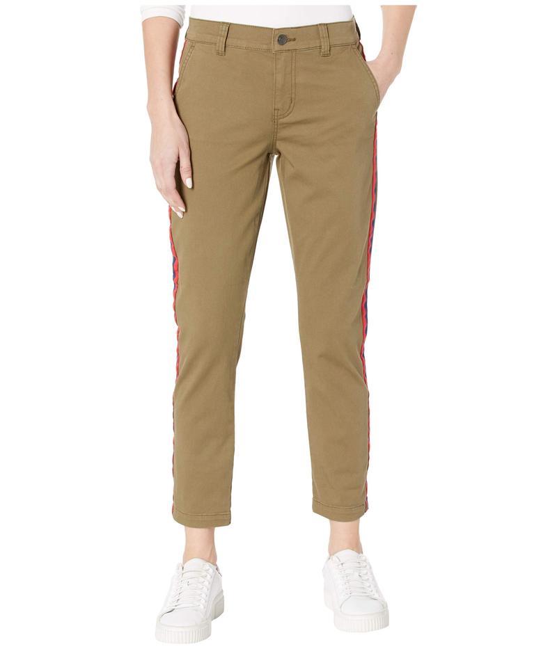 カレント エリオット レディース カジュアルパンツ ボトムス The Side Stripe Confidant Pants 0 Clean Army