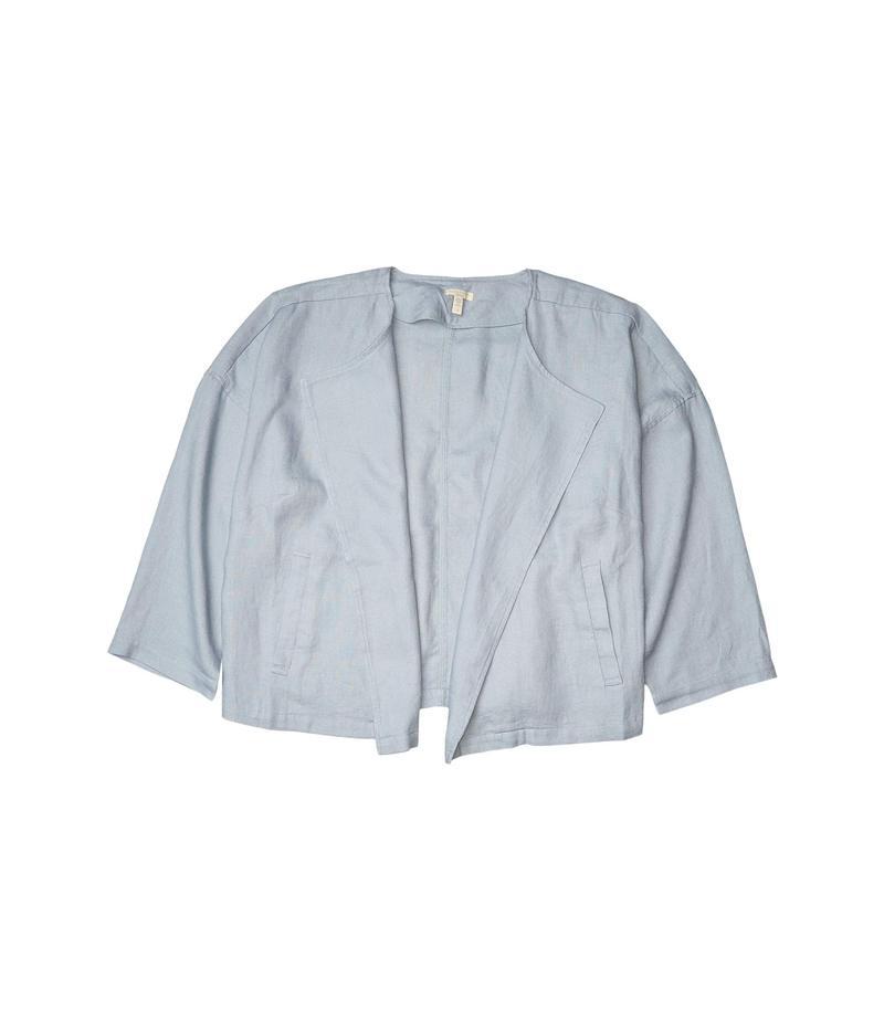 エイリーンフィッシャー レディース コート アウター Plus Size Drape Front Jacket Dawn