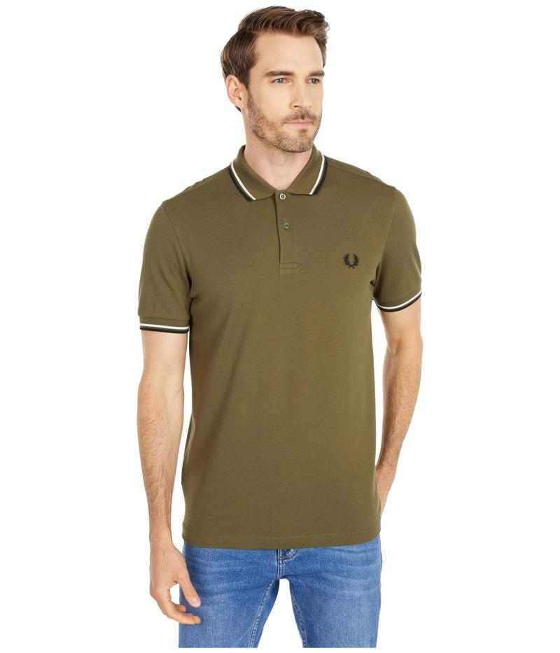 フレッドペリー メンズ シャツ トップス Twin Tipped Shirt Military Green/