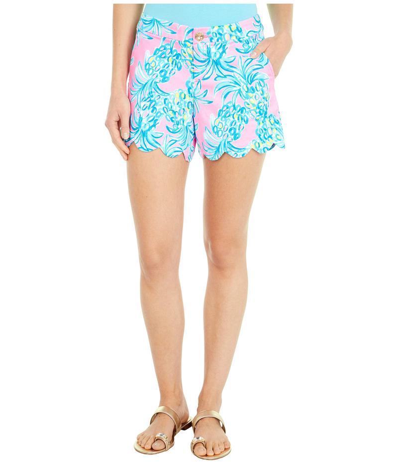 リリーピュリッツァー レディース ハーフパンツ・ショーツ ボトムス Buttercup Stretch Shorts Pelican Pink Be