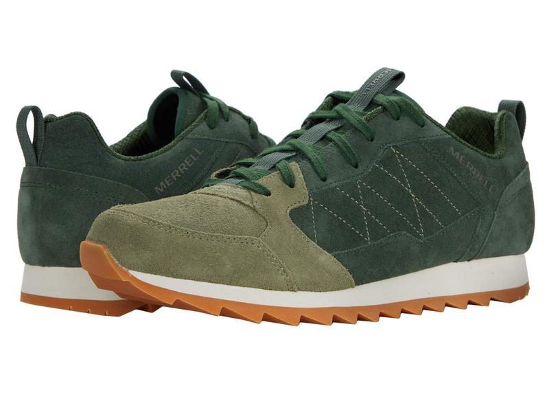 メレル メンズ スニーカー シューズ Alpine Sneaker Forest Suede