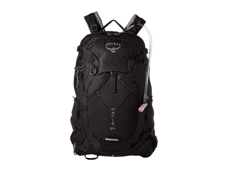 オスプレー メンズ バックパック・リュックサック バッグ Manta 24 Black